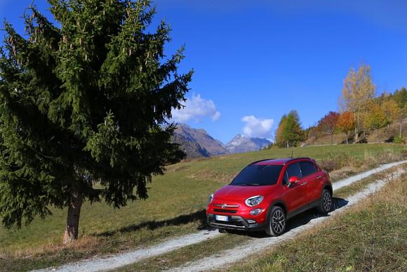 Fiat 500X 4X4 tout chemin