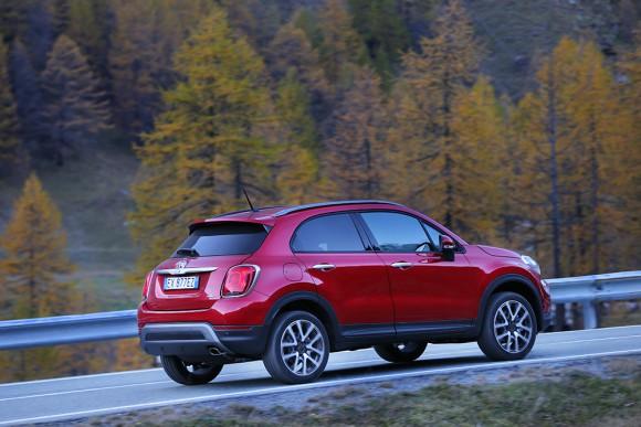 Fiat 500X 4X4 profil