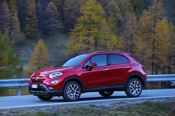 Fiat 500X 4X4 vue profil
