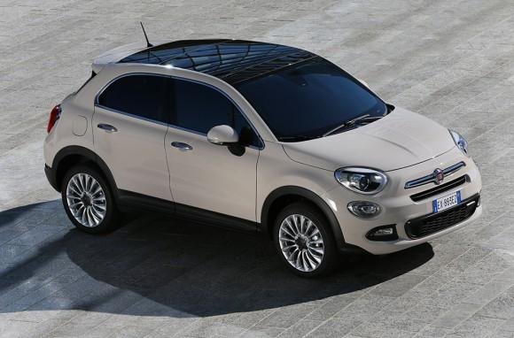 Fiat-500X-urbain toit