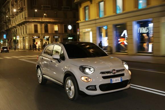 Fiat-500X-urbain en ville