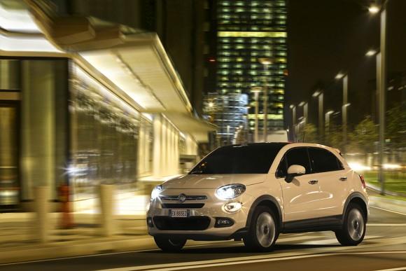 Fiat-500X-urbain nuit