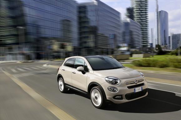 Fiat-500X-urbain trois quart avant