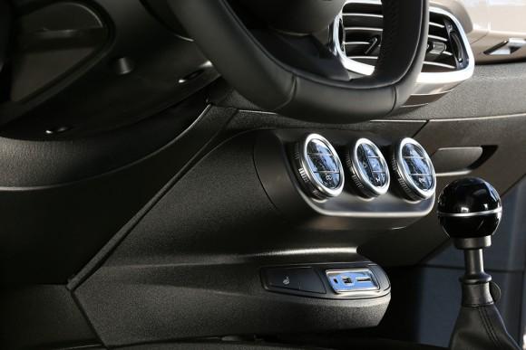 Fiat 500X commandes centrales