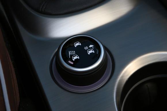 Fiat 500X selecteur
