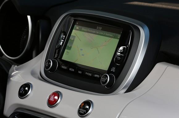 Fiat 500X ecran tactile