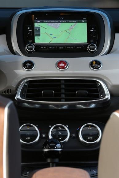 Fiat 500X ordinateur de bord