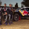 Dakar 2015 : le Peugeot 2008 DKR a sa tenue de combat