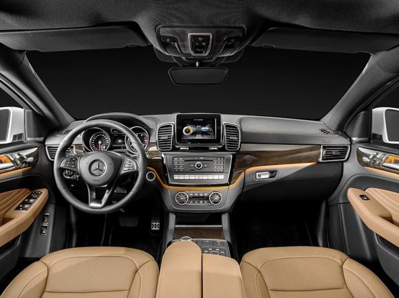 Interieur Mercedes-Benz GLE Coupé 2015