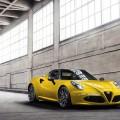 Alfa romeo 4C Spider : la voil� enfin au salon auto de D�troit 2015