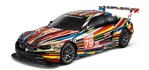 BMW Art cars M3 GT2 de Jeff Koons