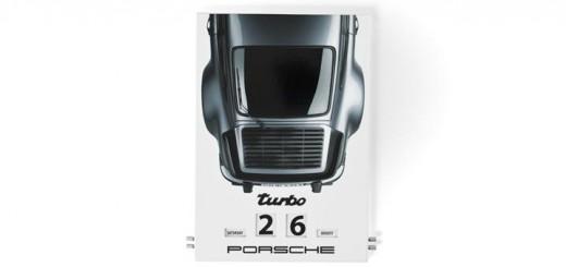 Calendrier perpetuel Porsche en email cadeau st valentin