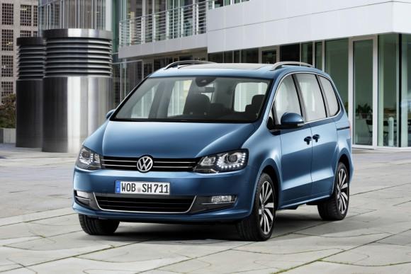 Face avant Nouveau Volkswagen Sharan 2015
