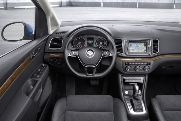 Nouveau Volkswagen Sharan 2015 commandes volant
