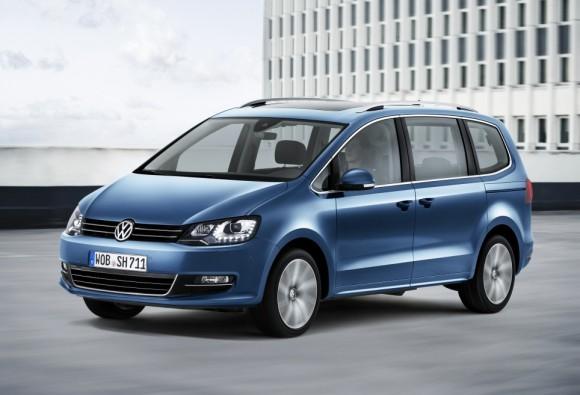 Nouveau Volkswagen Sharan 2015 face avant