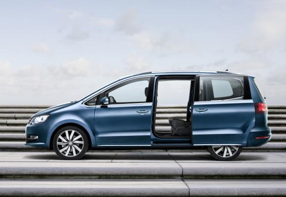 Nouveau Volkswagen Sharan 2015 porte coulissante