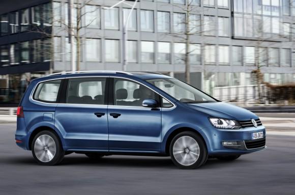 Nouveau Volkswagen Sharan 2015 profil