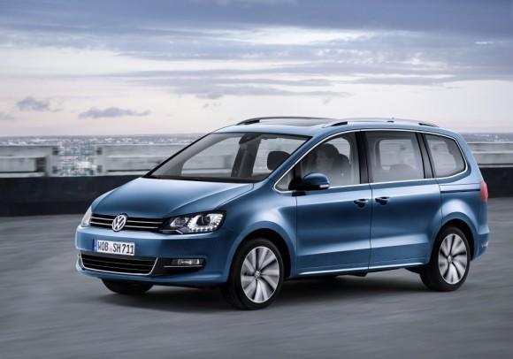 Nouveau Volkswagen Sharan 2015 vue avant