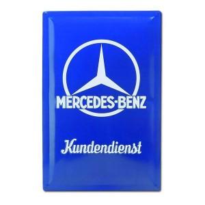 Plaque en tole Mercedes de déco pour cadeau rétro de ST Valentin