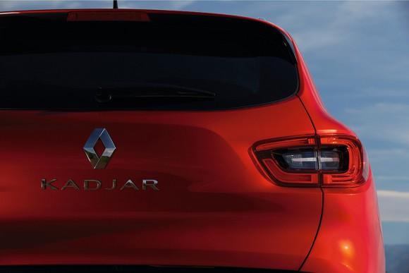 Renault Kadjar coffre vue arriere