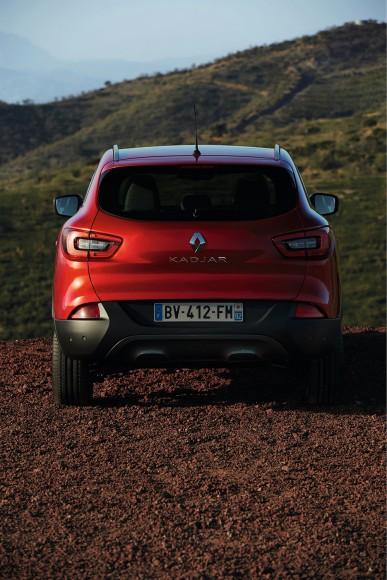 Renault Kadjar face arriere