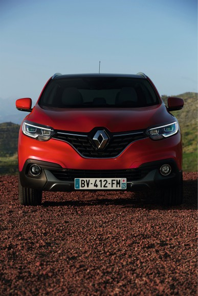 Renault Kadjar face avant