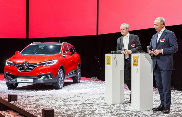 Renault Kadjar presentation ghosn