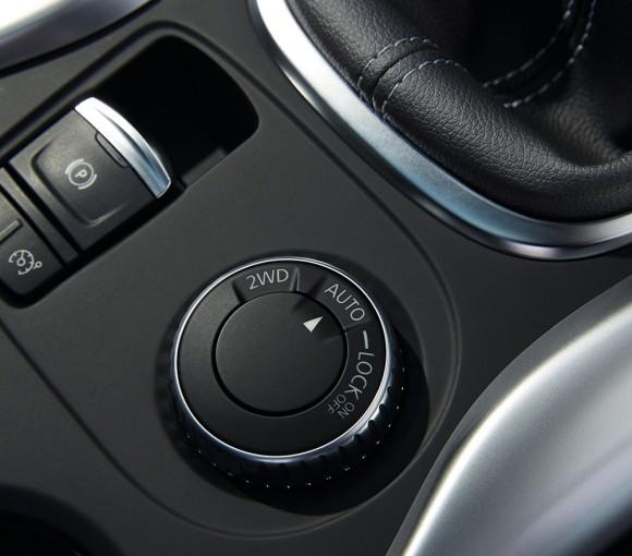Renault Kadjar selecteur transmission