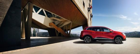 Renault Kadjar vue profil