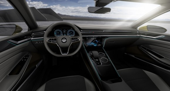 interieur Volkswagen Sports Coupe concept Geneve 2015 (5)