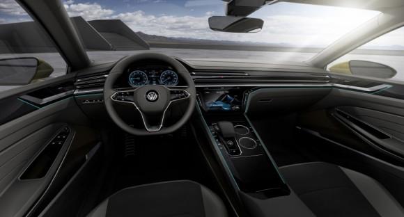 interieur Volkswagen Sports Coupe concept Geneve 2015 (5)