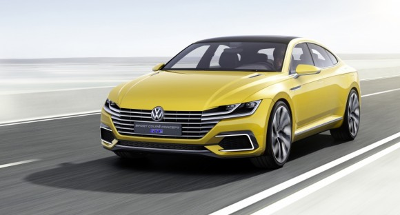 face avant Volkswagen Sports Coupe concept Geneve 2015 (5)