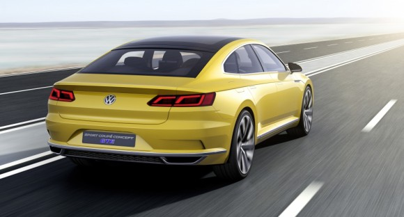 face arriere Volkswagen Sports Coupe concept Geneve 2015 (5)