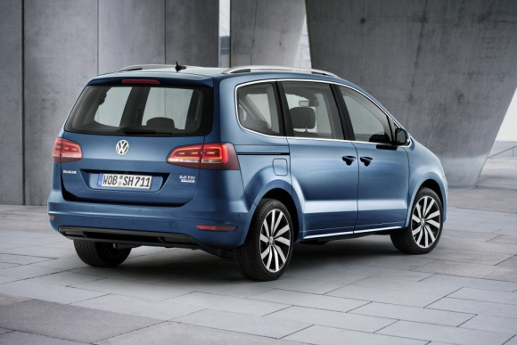 new Volkswagen Sharan 2015 arriere