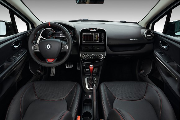 Photo interieur Renault Clio RS 220 EDC Trophy