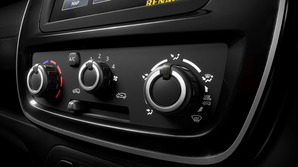 console centrale renault kwid