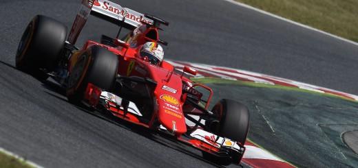Sebastian Vettel Ferreri 2015