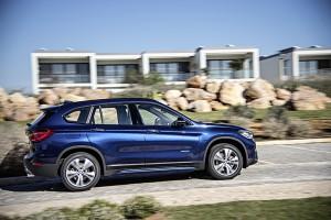 BMW X1 2015 profil