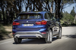 BMW X1 2015 test route