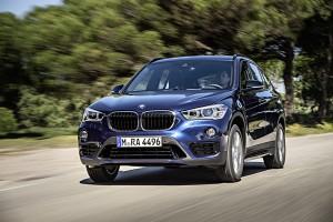 BMW X1 2015 essai route