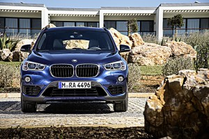 BMW X1 2015 front