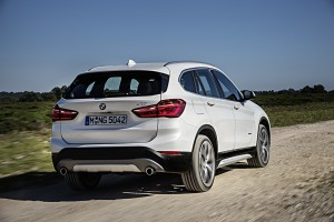 BMW X1 2015 coffre
