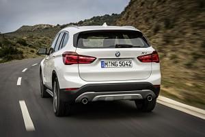 BMW X1 2015 vue arriere