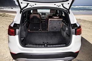 BMW X1 2015 rangement