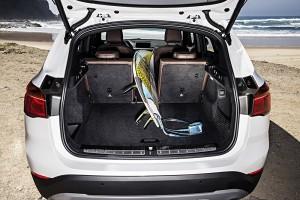 BMW X1 2015 volume coffre
