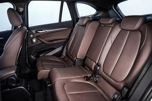 BMW X1 2015 interieur arriere