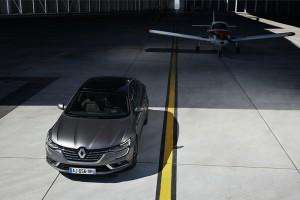 Renault Talisman vue dessus