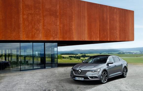 vue avant Renault Talisman