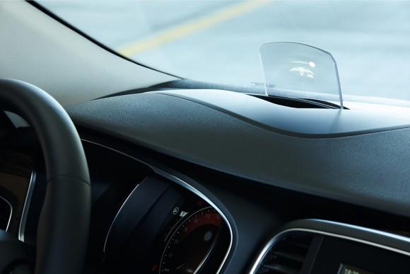 affichage tete haute Renault Talisman