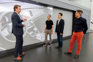 equipe travail Renault Talisman